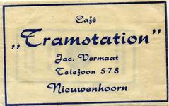 SZ0607. Café Tramstation.