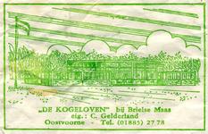 SZ0903. De Kogeloven (bij Brielse Maas).