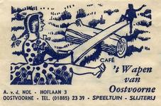 SZ0904. Café 't Wapen van Oostvoorne - speeltuin, slijterij.