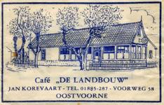 SZ0906. Café De Landbouw.