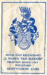 SZ0911. Hotel, Café, Restaurant 't Wapen van Marion.