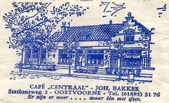 SZ0913. Café Centraal - Er zijn er meer.... maar één met sfeer.
