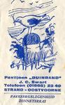 SZ0915. Paviljoen Duinrand.