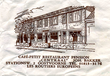 SZ0928. Café, Biljart 't Gors Paviljoen.