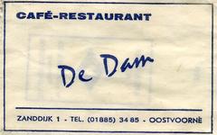 SZ0929. Café, Restaurant De Dam.