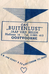 SZ0933. Café Buitenlust.
