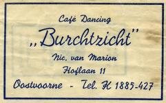 SZ0935. Café, Dancing Burchtzicht.