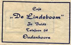 SZ1002. Café De Lindeboom.
