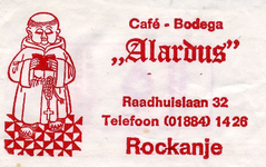SZ1102. Café - Bodega 'Alardus'.
