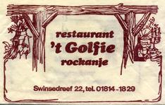 SZ1103. Restaurant 't Golfie.