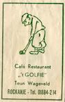 SZ1105. Café, Restaurant 't Golfie.