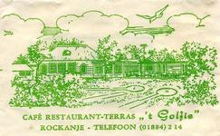 SZ1107. Café, Restaurant, Terras 't Golfie.