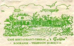 SZ1108. Café, Restaurant, Terras 't Golfie.