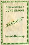 SZ1110. Lunchroom Zeerust.