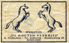 SZ1117. Speeltuin De Houten Paardjes.