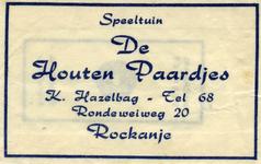 SZ1118. Speeltuin De Houten Paardjes.