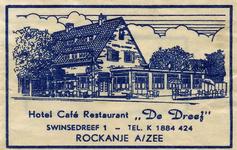 SZ1126. Hotel, Café, Restaurant De Dreef.