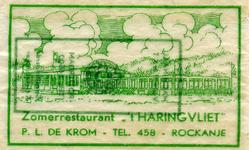 SZ1150. Zomerrestaurant 't Haringvliet.