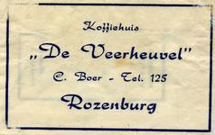 SZ1207. Koffiehuis De Veerheuvel.