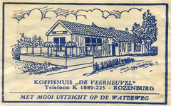 SZ1210. Koffiehuis De Veerheuvel - met mooi uitzicht op de Waterweg.