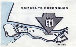 SZ1211. Gemeente Rozenburg.