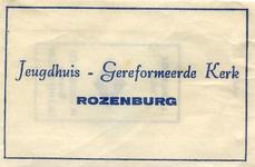 SZ1213. Jeugdhuis - Gereformeerde Kerk.