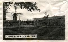 SZ1214. Gemeente Rozenburg.