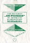 SZ1216. Café, restaurant De Pionier.