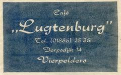 SZ1601. Café Lugtenburg.