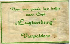 SZ1605. Voor een goede kop koffie naar Café Lugtenburg.