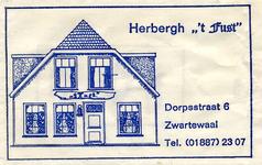 SZ1801. Herberg 't Fust.