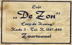 SZ1803. Café De Zon.