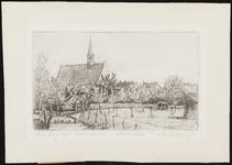 SPUIJBROEK_001 De kerk van Oudenhoorn, ca. 1935