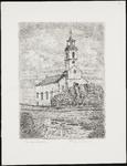 SPUIJBROEK_004 De kerk van Simonshaven, ca. 1955