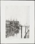 SPUIJBROEK_017 Kijkje op de haven van Vlaardingen, ca. 1930