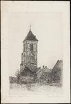 SPUIJBROEK_045 De kerktoren van Nieuw-Helvoet, 1933
