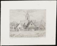 SPUIJBROEK_046 Kijkje op Spijkenisse met de kerk, ca. 1965