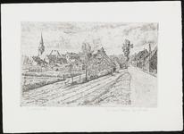 SPUIJBROEK_151 Gezicht op Zuidland, met de kerk, ca. 1968