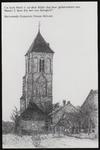 SPUIJBROEK_247K Verjaardagskaart van de Hervormde Gemeente Nieuw-Helvoet. De kerk van Nieuw-Helvoet, ca. 1985