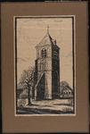 SPUIJBROEK_D_009 De kerktoren van Nieuw-Helvoet, 1933