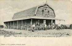 PB0239 Café Restaurant 't Huis te Rugge, ca. 1909