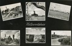 PB3269 Hellevoetsluis; Groeten uit Hellevoetsluis: een compilatie van prentbriefkaarten, 1962