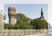 PB3409 Hellevoetsluis; De watertoren en de Katholieke Kerk, 2010