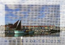 PB3410 Hellevoetsluis; De haven van Hellevoetsluis, 2010