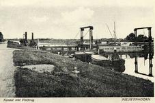 PB4056 De vlotbrug over het Kanaal door Voorne, 1932