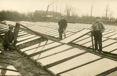 PB5028 Koude glastuinbouw bij Oostvoorne, ca. 1922