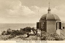 PB5177 Koepel Zeeburg uitzicht op zee, ca. 1922
