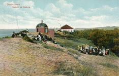 PB5181 Kijke op badgasten en Koepel Zeeburg, ca. 1913