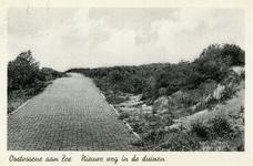 PB5879 Nieuwe weg in de duinen, ca. 1935