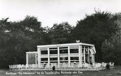 PB7303 Restaurant De Meidoorn nabij de Tenellaplas, 1971